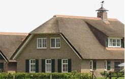 Rieten dak vervangen rietdekkersbedrijf j de gouw